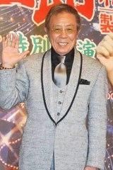 芸道50周年記念『北島三郎特別公演』の製作発表会見を行った北島三郎 (C)ORICON DD inc.