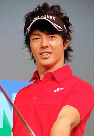 『ヨネックスゴルフ2011』新製品発表会に出席した石川遼選手 (C)ORICON DD inc.