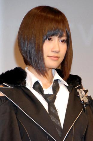 おしゃれな髪型の前田敦子