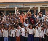 2011年公開予定の深作健太監督作品『僕たちは世界を帰ることができない。But, we wanna build a school in Cambodia.』
