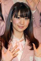 コンサート『AKB48リクエストアワー セットリストベスト100 2011』の公開リハーサルを行ったAKB48・大島優子