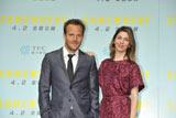 映画『SOMEWHERE』のプロモーションで来日したソフィア・コッポラ監督(右)と主演のスティーヴン・ドーフ