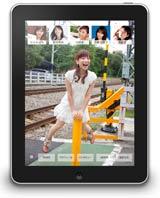 100枚以上の女子アナの写真が収録されたアプリ『原色美人キャスター大図鑑 cent.FORCE Perfect File』(文藝春秋/1000円)