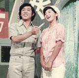 (左より)萩本欽一、桜田淳子(C)NTV