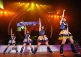 AKB48から新ユニットNot yet(ノットイエット)が誕生! 発表された『AKB48リクエストアワー セットリストベスト100 2011』2日目公演では早速デビュー曲を披露 ※写真左から 指原莉乃、北原里英、横山由依、大島優子