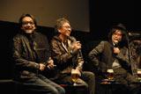映画『冷たい熱帯魚』のトークショーに出演した(左から)吹越満、三池崇史、園子温