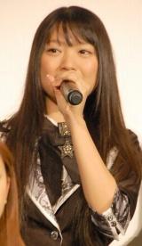 映画『DOCUMENTARY of AKB48 to be continued 10年後、少女たちは今の自分になにを思うのだろう?』初日舞台あいさつに出席した北原里英 (C)ORICON DD inc.