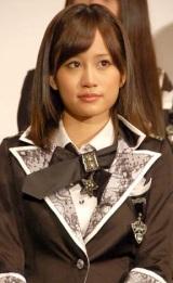映画『DOCUMENTARY of AKB48 to be continued 10年後、少女たちは今の自分になにを思うのだろう?』初日舞台あいさつに出席した前田敦子 (C)ORICON DD inc.