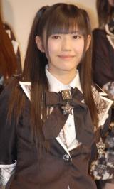 映画『DOCUMENTARY of AKB48 to be continued 10年後、少女たちは今の自分になにを思うのだろう?』初日舞台あいさつに出席した渡辺麻友 (C)ORICON DD inc.