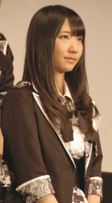 映画『DOCUMENTARY of AKB48 to be continued 10年後、少女たちは今の自分になにを思うのだろう?』初日舞台あいさつに出席した柏木由紀 (C)ORICON DD inc.