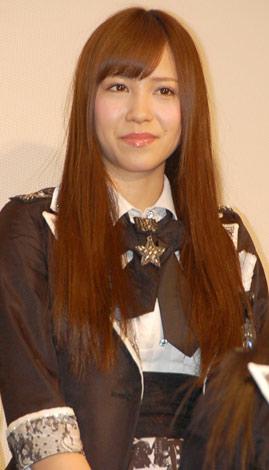 映画『DOCUMENTARY of AKB48 to be continued 10年後、少女たちは今の自分になにを思うのだろう?』初日舞台あいさつに出席した河西智美 (C)ORICON DD inc.