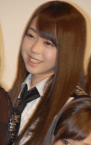 映画『DOCUMENTARY of AKB48 to be continued 10年後、少女たちは今の自分になにを思うのだろう?』初日舞台あいさつに出席した峯岸みなみ (C)ORICON DD inc.