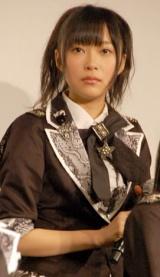 映画『DOCUMENTARY of AKB48 to be continued 10年後、少女たちは今の自分になにを思うのだろう?』初日舞台あいさつに出席した指原莉乃 (C)ORICON DD inc.