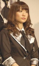 映画『DOCUMENTARY of AKB48 to be continued 10年後、少女たちは今の自分になにを思うのだろう?』初日舞台あいさつに出席した大島優子 (C)ORICON DD inc.