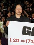 『GANTZ』日米同日舞台あいさつを行った松山ケンイチ