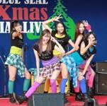 昨年12月に出演した『ブルーシール クリスマススペシャルライブ』より。