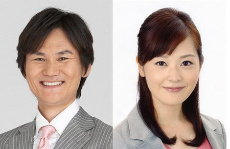 新番組『南原清隆のお昼ナンです。(仮)』の新MC(左から)南原清隆、水卜麻美アナウンサー (c)日本テレビ
