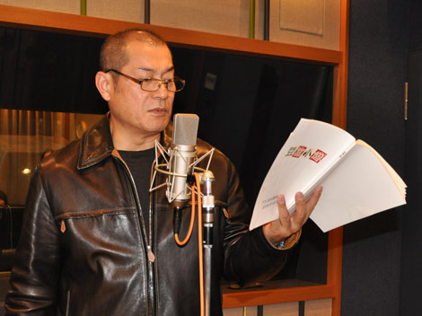 GWに公開の本格長編3Dアニメーション映画『豆富小僧』で声優に初挑戦した松平健