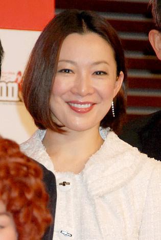 ミュージカル『アニー』の制作発表に出席した香寿たつき (C)ORICON DD inc.