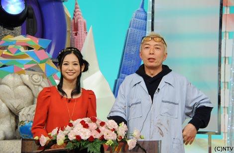 『1億人の大質問!?笑ってコラえて!』(日本テレビ系)の総合司会・所ジョージとサブMC関根麻里