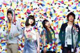 3月30日、映画『高校デビュー』主題歌「フォーリン・ラブ」でメジャーデビューする7!!(セブン・ウップス) (左から)MICHIRU(Gt.)、NANAE(Vo.)、MAIKO(Dr.)、KEITA(Ba.)