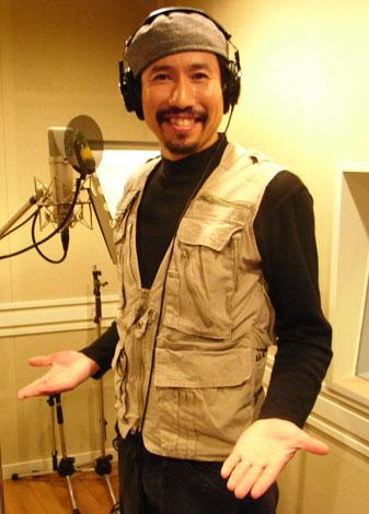 初の朗読CDをレコーディングした渡部陽一