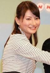 NHK平成23年度新キャスター発表会見に出席した、『ニュースウオッチ9』担当の井上あさひアナウンサー (C)ORICON DD inc.