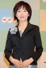 NHK平成23年度新キャスター発表会見に出席した山田敦子アナウンサー (C)ORICON DD inc.