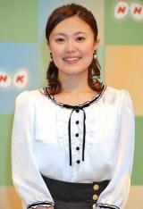 NHK平成23年度新キャスター発表会見に出席した小林千恵アナウンサー (C)ORICON DD inc.