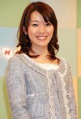 NHK平成23年度新キャスター発表会見に出席した中村慶子アナウンサー (C)ORICON DD inc.
