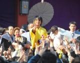 由緒ある日枝神社の『節分祭』に参加した遊助 【3日=東京・赤坂】 (C)ORICON DD inc.