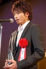 『2011年 エランドール賞』新人賞を受賞した向井理 (C)ORICON DD inc.