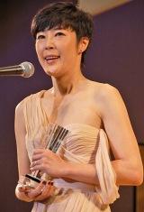 『2011年 エランドール賞』授賞式に出席した寺島しのぶ (C)ORICON DD inc.