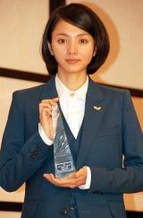 『2011年 エランドール賞』新人賞を受賞した満島ひかり (C)ORICON DD inc.