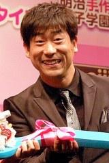 明治製菓『明治手作り女子学園』PRイベントに出席した原口あきまさ (C)ORICON DD inc.