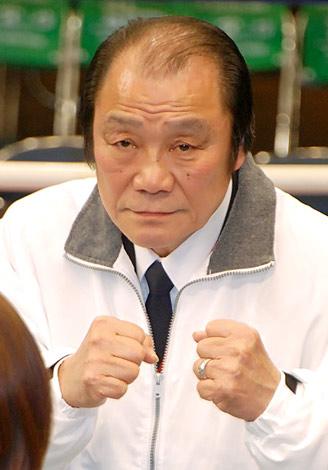 映画『あしたのジョー』とボクシング新旧世界王者のコラボイベント『チャンピオンカーニバル』に出演した元WBA・WBC世界スーパーウェルター級王者・輪島功一 (C)ORICON DD inc.