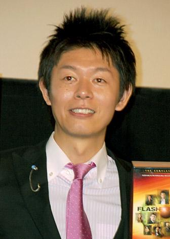 海外ドラマ『フラッシュフォワード』DVD発売記念イベントに出席した島田秀平 (C)ORICON DD inc.