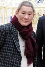 NHK『たけしアート☆ビート』(BSプレミアム)の収録を行ったビートたけし (C)ORICON DD inc.