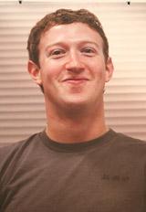 『Facebook』の創業者マーク・ザッカーバーグ氏のパネル