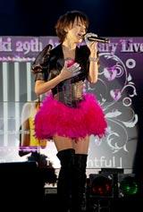 コンサート『Ami Suzuki 29th Anniversary Live』のリハーサルの模様