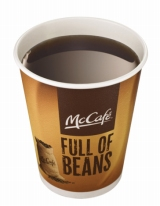 「マックカフェ」1商品を買うと1杯分のお試し券がもらえるマクドナルドの『プレミアムローストコーヒー』