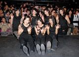 (前列左から)MIYUU、YURINO、SAYAKA、(後列左から)MAYU、KAREN、MIMU、KAEDE (C)ORICON DD inc.