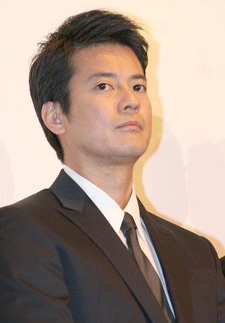 映画「太平洋の奇跡-フォックスと呼ばれた男-」初日舞台あいさつに登壇した唐沢寿明(C)ORICON DD inc.