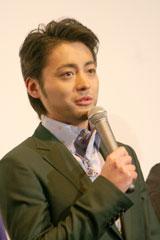 映画「太平洋の奇跡−フォックスと呼ばれた男−」初日舞台あいさつに登壇した山田孝之(C)ORICON DD inc.