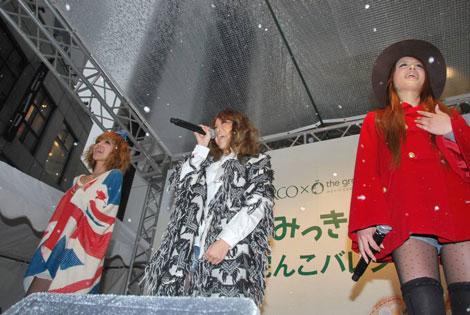 渋谷PARCOスペシャルイベントでライブを行ったJuliet(C)ORICON DD inc.