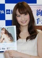 初写真集『Aya Omasa First Photo Book』発売記念イベントを行った大政絢 (C)ORICON DD inc.