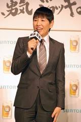 サントリーの新ジャンル飲料『ジョッキ生』新CM発表会に出席した和田アキ子