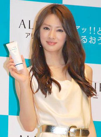 サムネイル 日焼け止めブランド『ALLIE(アリィー)』の新イメージキャラクターを務める北川景子