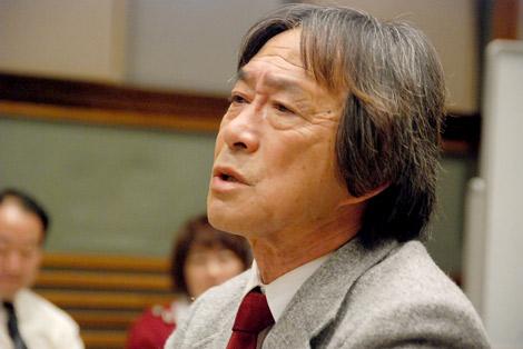 32年に渡りシリーズ化された『3年B組金八先生』への熱い思いを語り、涙を浮かべた武田鉄矢 (C)ORICON DD inc.