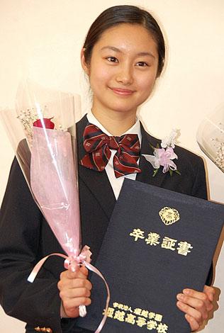 堀越高等学校を卒業した忽那汐里 (C)ORICON DD inc.